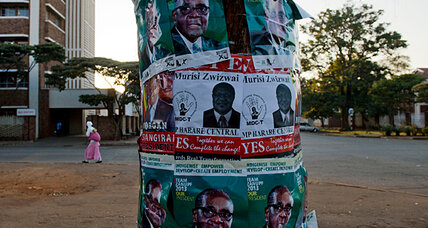 With Zimbabwe vote looming, country braces for the unknown