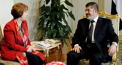 In Egypt, EU chief meets Morsi: Is there a solution on the horizon?