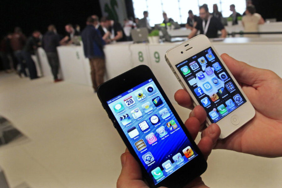 iPhone: Fingerprint scanner rumored and an 'iPhone 5C' model