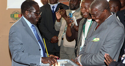 Mugabe willing to step down as Zimbabwe voters show up at 4 a.m.