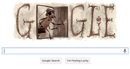 Franz Kafka: Google doodle honors author of 'The Metamorphosis'