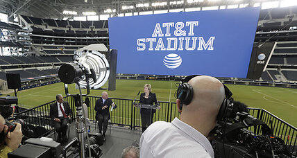 Dallas Cowboys Stadium? Now it's AT&T Stadium.
