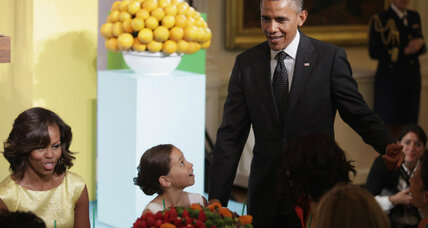 Kids' State Dinner celebrates healthy lunches