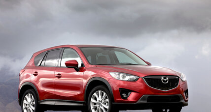 2014 Mazda CX-5: Sporty styling. Compact crossover.