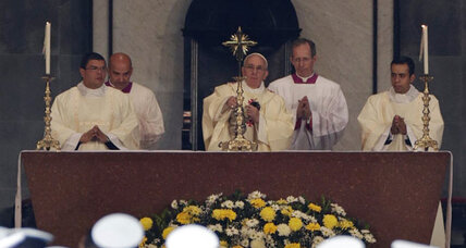 Pope urges Catholic Church to engage as he wraps up South American visit