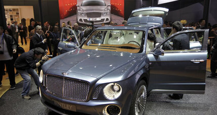 Bentley SUV to start production for 2016