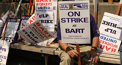 San Francisco BART strike snarls traffic, drains $73 million a day