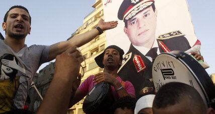 In Egypt, love for Sisi overshadows protester deaths (+video)
