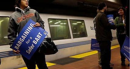 BART strike: One union on board, more to go.