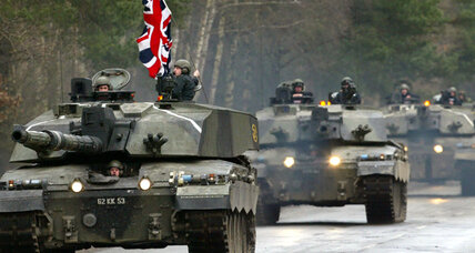 As Britain's military shrinks, US concerns grow