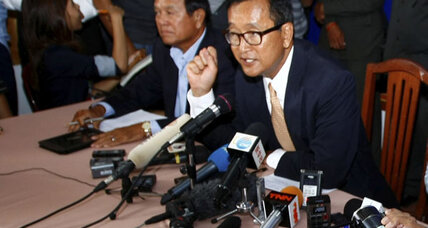 Cambodia's opposition rejects election results, claims fraud