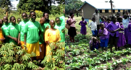 In Uganda, better nutrition through school gardens