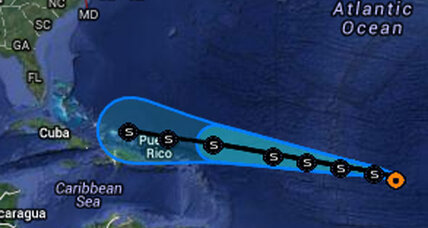 Tropical storm Dorian tracking toward Puerto Rico (+video)