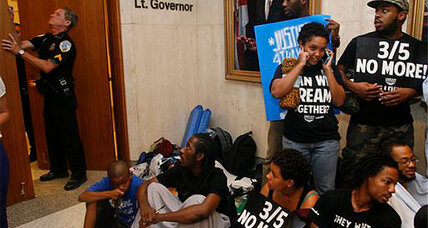 Stand Your Ground protesters meet with Florida governor