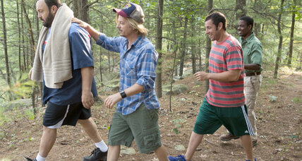 'Grown Ups 2' offers only uninspired gross-out humor