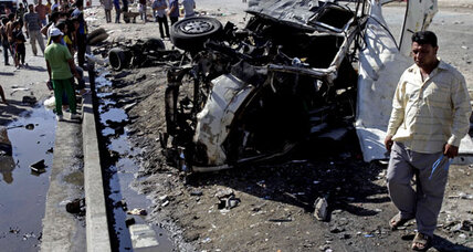 Car bombings in Iraq wound Maliki's government