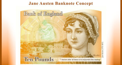 Jane Austen will be the face of the 10-pound note in the UK