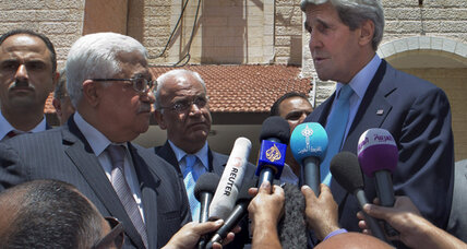 John Kerry leaves Mideast citing 'progress.' Why sides are mum on how much.