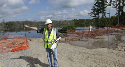 Louisiana sinkhole: Hard choices forced onto neighbors