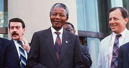 Mandela meets the press: Monitor coverage after his prison years