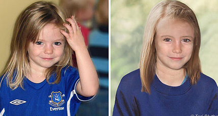 Madeleine McCann may still be alive, say British police