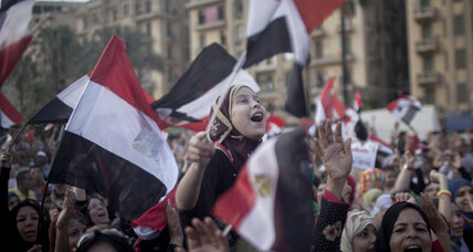 Is Egypt's military about to overthrow an elected president?
