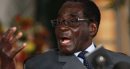 Mugabe will step down if he loses tomorrow. That's a big if.