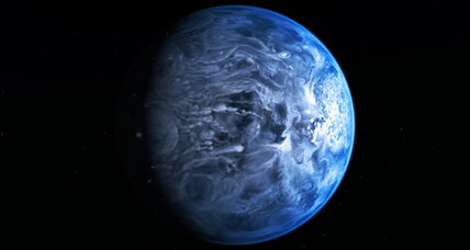 Exoplanet's deep blue color a surprise to scientists