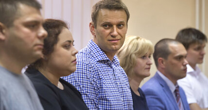 Conviction of Russian activist Navalny draws condemnation