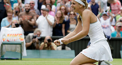 Sabine Lisicki knocks Serena Williams out of Wimbledon