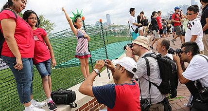 Statue of Liberty reopens on Independence Day (+video)