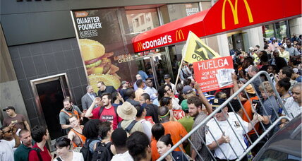 Schooled by Occupy movement, fast-food workers put demands on the table