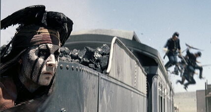 'The Lone Ranger' falls below 'Despicable Me 2' in weekend take
