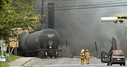 Does Canada train blast show danger of oil transport in US?