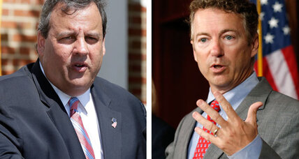 Where's the bacon? Rand Paul-Chris Christie feud all about 2016.