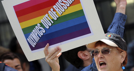 Russia: Anti-gay law will be enforced during Olympics
