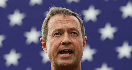 Does Gov. Martin O'Malley want to be Hillary Clinton's vice president?