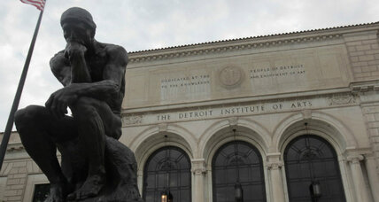 Detroit bankruptcy: Will city's storied art collection be sold? (+video)