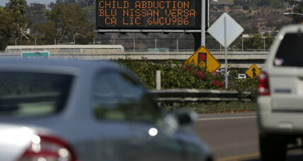Amber alert fatigue? Alerts on cell phones set Californians buzzing. (+video)