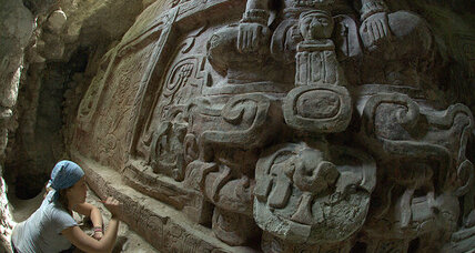 Mayan frieze: A once-in-a-lifetime find