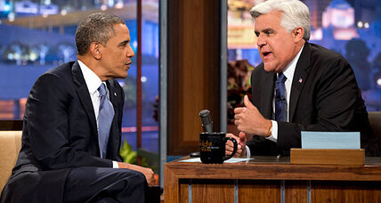 Obama on Leno: president talks terrorism, NSA leaks, and broccoli