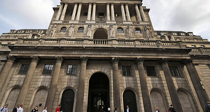 Bank of England adopts unemployment target