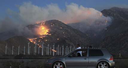 Silver fire spreads, threatening homes in California