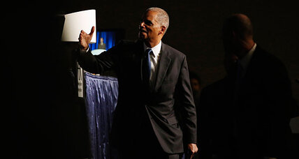 Eric Holder proposes major shift in 'war on drugs' (+video)