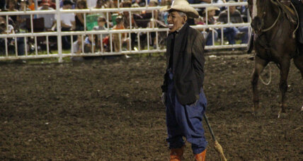 Rodeo clown banned: Did rodeo stunt go too far? (+video)