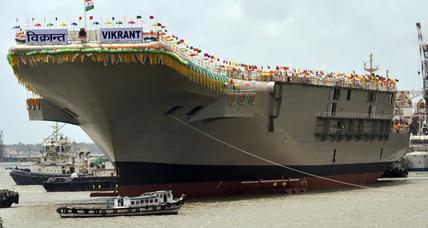 India aircraft carrier: New Delhi launches first home-built carrier