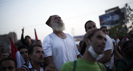 Crackdown on Cairo's Morsi supporters stalls (+video)