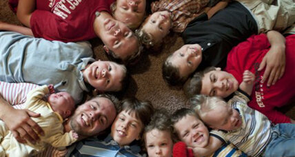 Biggest all-boy family ever? Mother of eleven sons gets another one