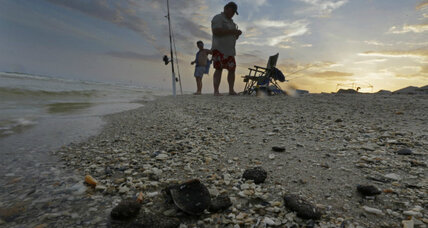BP oil spill cleanup: US says the coast is nearly clear. Is it? (+video)