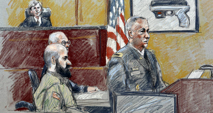 Seeking martyrdom, Nidal Hasan raises little fuss in Fort Hood courtroom